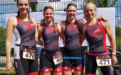 Rückblick- 1. und 2. Wettkampf der Albgold- Triathlonliga