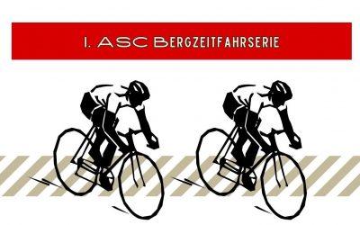 1. ASC Bergzeitfahrserie: Ein Wettkampf mit Abstand !